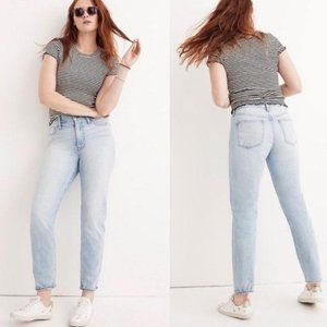 Madewell Perfect Summer Jeans Light Wash High Rise
